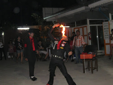 การแสดงอมไฟหรือมนุษย์กินไฟ