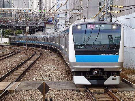京浜東北線 快速 東十条行き E233系