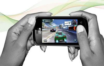 Smartphone Pertama Desain Orang Afrika
