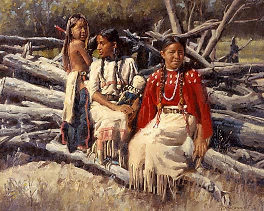 Índios no começo do século