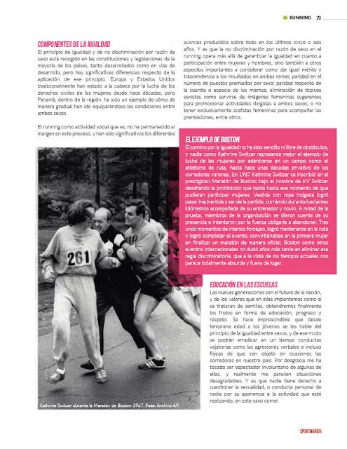mujeres en el running