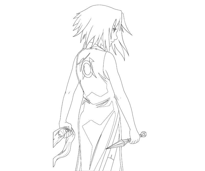 sakura haruno coloring pages - photo#16