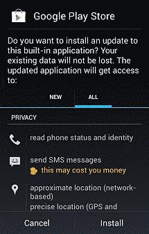 Install ulang aplikasi play store