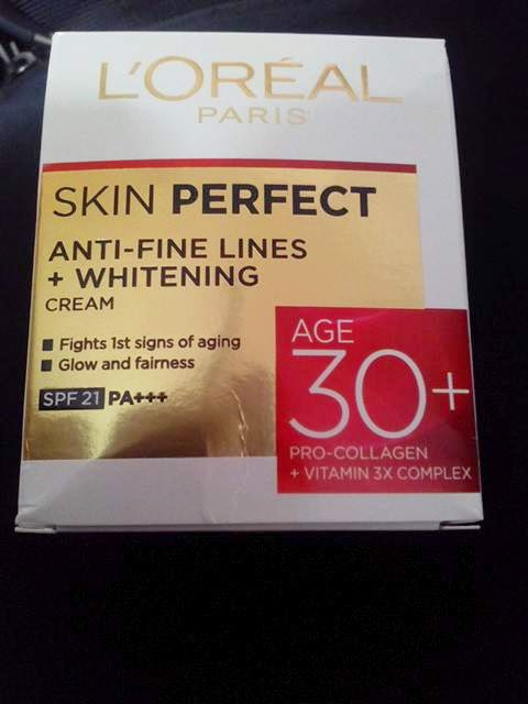 Loreal Skin Perfect 30+ Cream Review