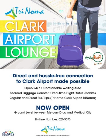 how to go to clark airport from manila