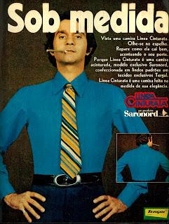 1970; moda anos 70; propaganda anos 70; história da década de 70; reclames anos 70; brazil in the 70s; Oswaldo Hernandez