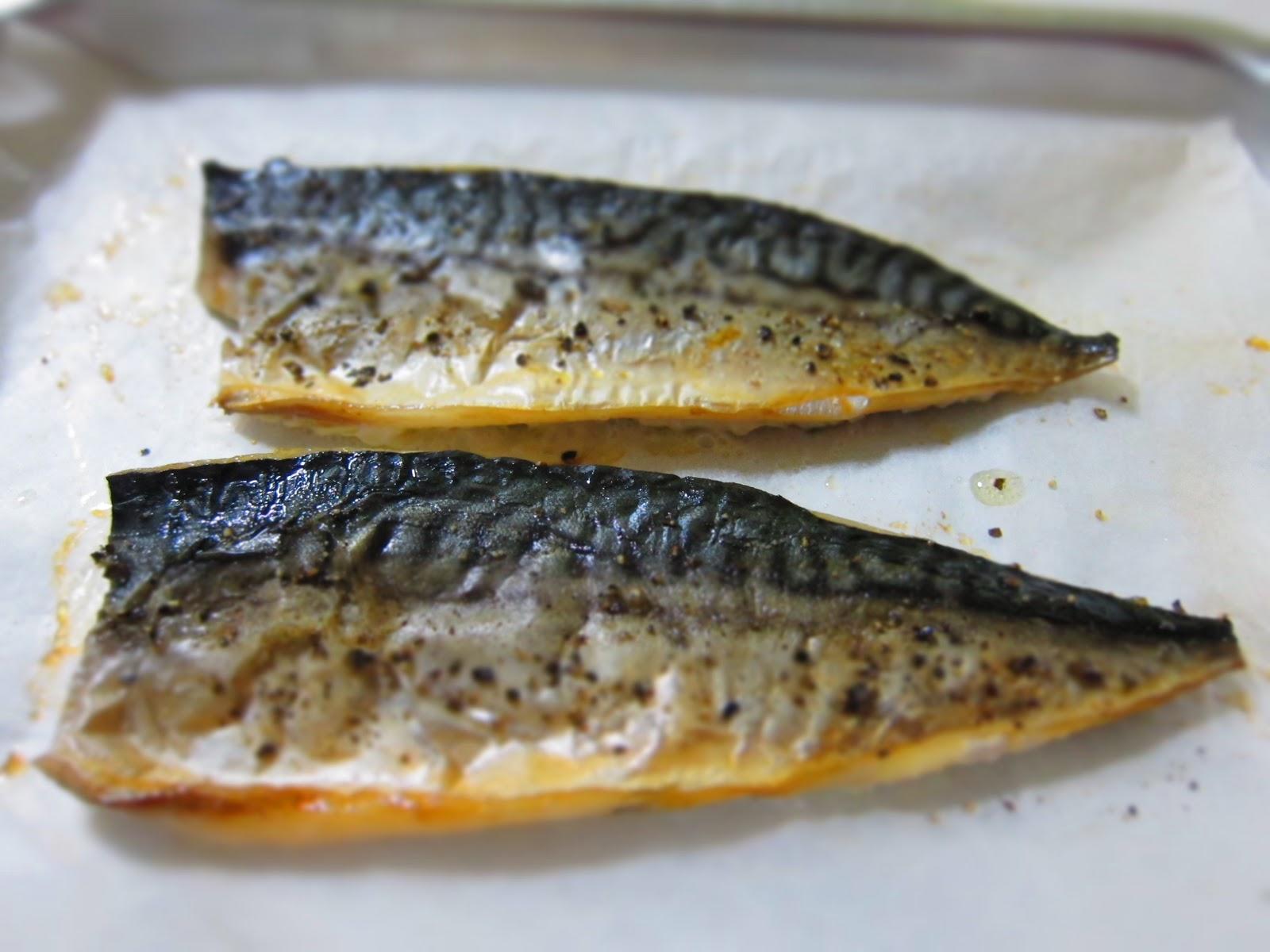 Papacheong 39 s bake saba spanish mackerel for How to cook mackerel fish