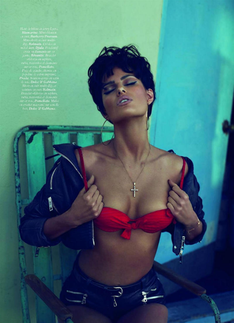 Isabeli Fontana VOGUE Paris June/July 2011