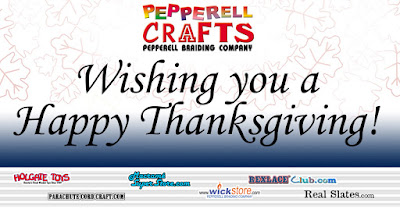 Pepperell Braiding Company Wishing You a Happy Thanksgiving!