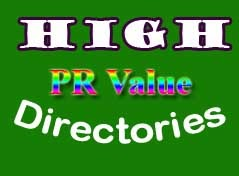 List of High Page Rank (PR) Directory Submission Sites