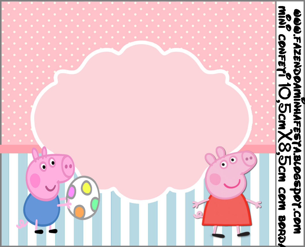 Pe peppa pig coloring pictures to print - Peppa Pig Free Printable Labels And Toppers