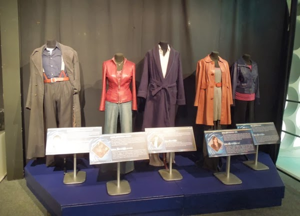 Original Doctor Who Companion costumes