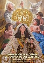 Cartel Coronación del Carmen de San Cayetano (Córdoba)
