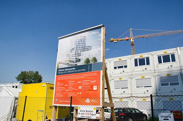 Baustelle 50Hertz Netzquartier, Neubau der Unternehmenszentrale, Heidestraße 14, 10557 Berlin, 03.08.2015