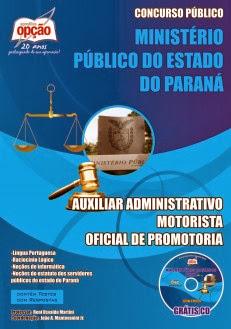 Apostila Completa Ministério Público do Panará MPPR 2013