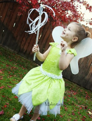 Tinker Bell Costume Sewing tutorial