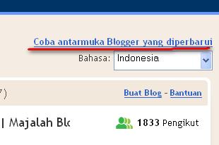 New Interface Blogger, Sudah Bisa di Blogger.Com