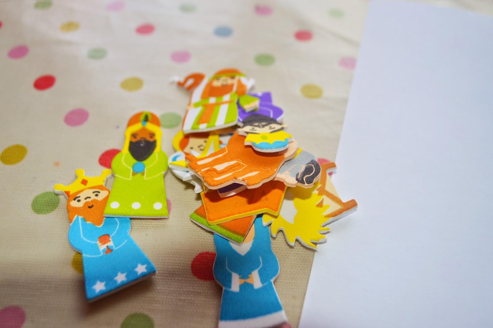 Christmas Eve 2014 Craft Nativity