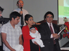 Recent Baby Dedication