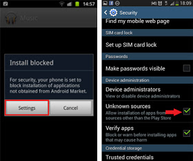how to delete unknown files on samsung s4 mini