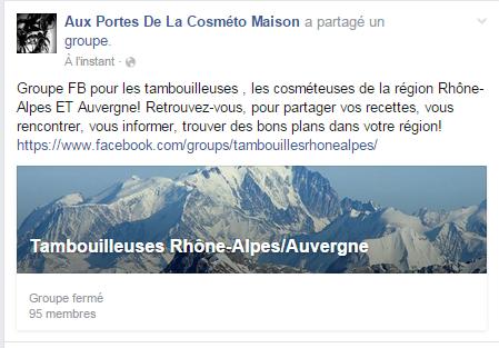 Groupe FB Tambouilleuses Rhône-Alpes/Auvergne