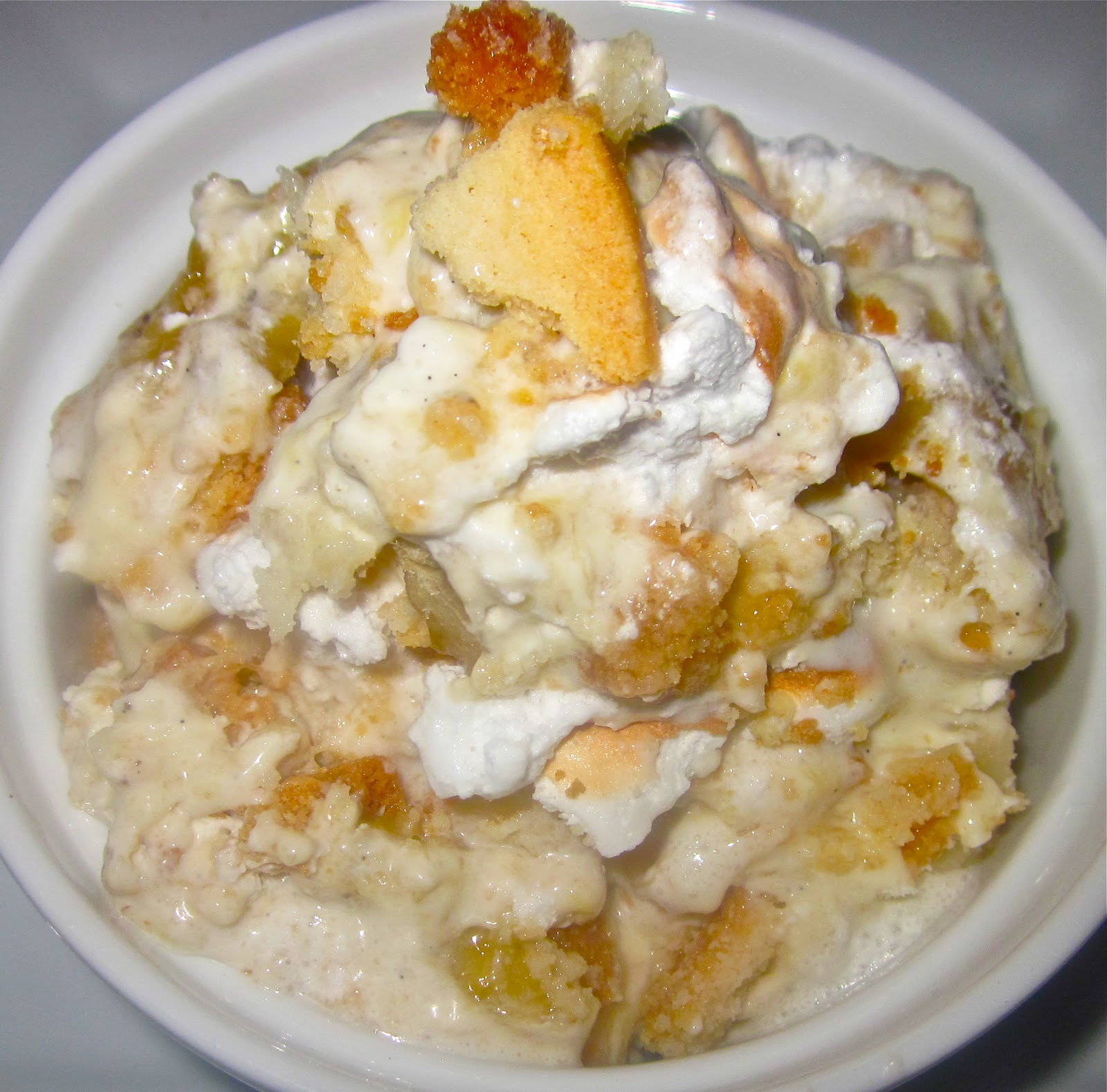 Butterscotch Pudding With Roasted Banana Whipped Cream Recipes ...
