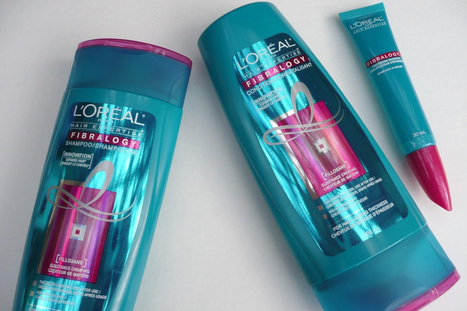 Review: L'Oreal Fibralogy Haircare*