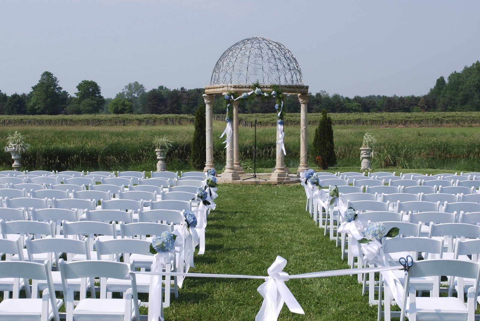 Very Small Wedding Ideas Photograph | view of the ceremony s
