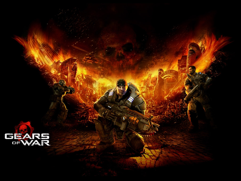 Gears of War HD & Widescreen Wallpaper 0.697558351738745