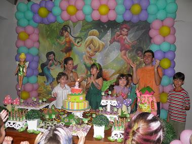 Festa Tinker Bell da Kamily