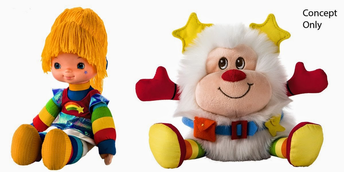 New Rainbow Brite and Twink Plush Dolls from Hallmark