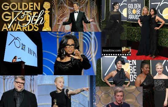 RECAP 75th GOLDEN GLOBE AWARDS