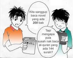Al-Quran VS Novel