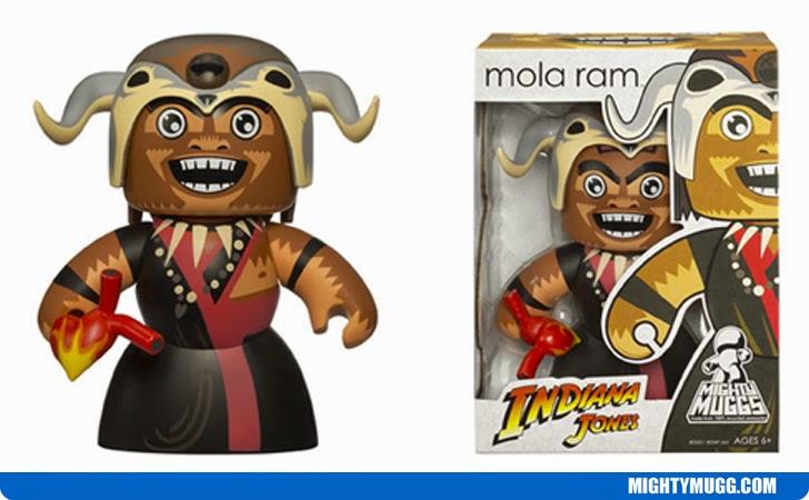 Mola Ram Indiana Jones Mighty Muggs Wave 1
