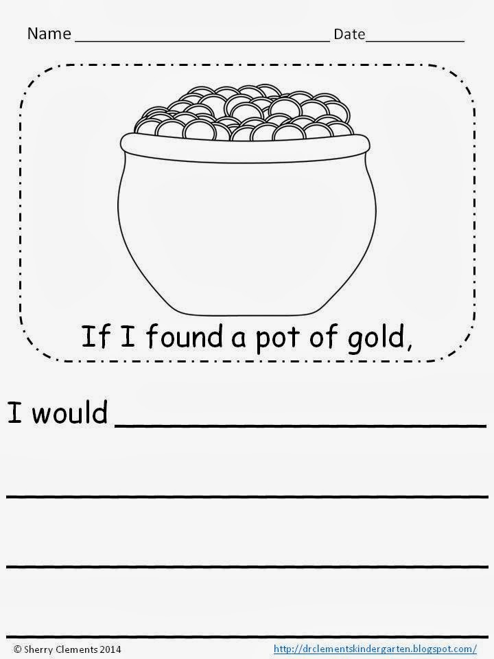 http://www.teacherspayteachers.com/Product/If-I-Had-a-Pot-of-Gold-I-Wouldwriting-prompt-FREEBIE-1139380