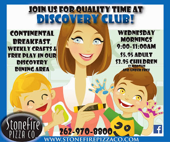 Discovery Club at Stonefire Pizza