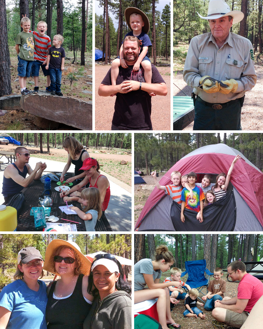Family Camping Trip - Woods Canyon Lake, Sitgreaves National Forest, AZ