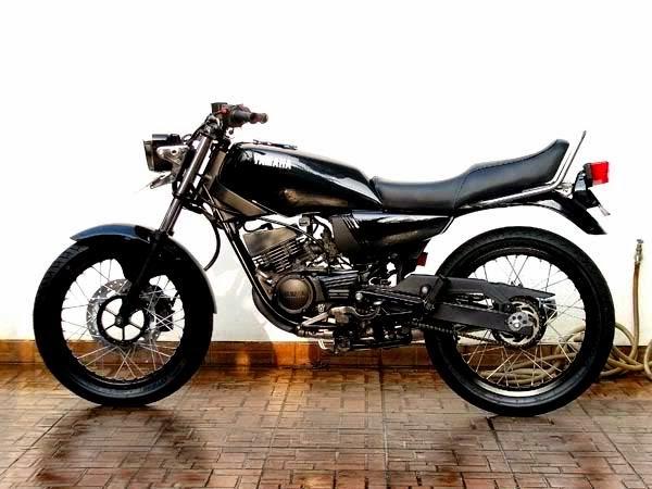 Foto Modifikasi RX King Modif Motor Yamaha Keren Desain Terbaru