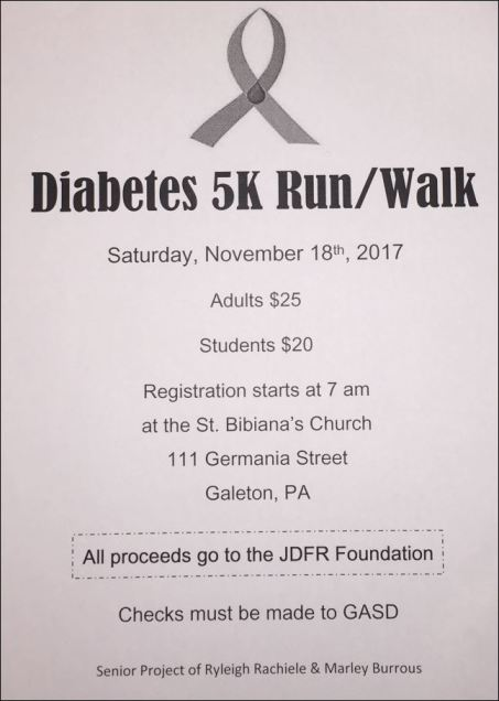 11-18 Diabetes 5K Run/ Walk