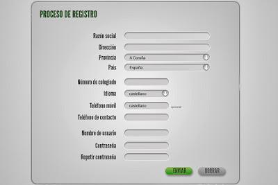 formularios en la web
