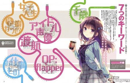 Anime Girlish Number Karya Penulis OreGairu Tentang Idol Seiyuu Diumumkan