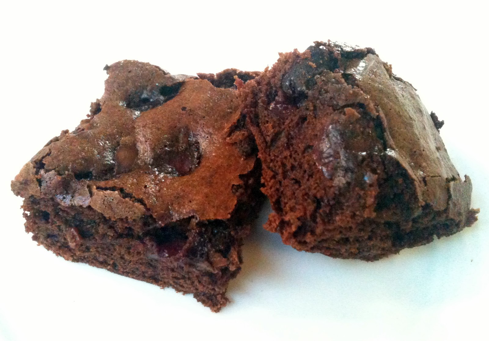 Adventures of Valley Writer: Fresh Cherry Chocolate Brownies