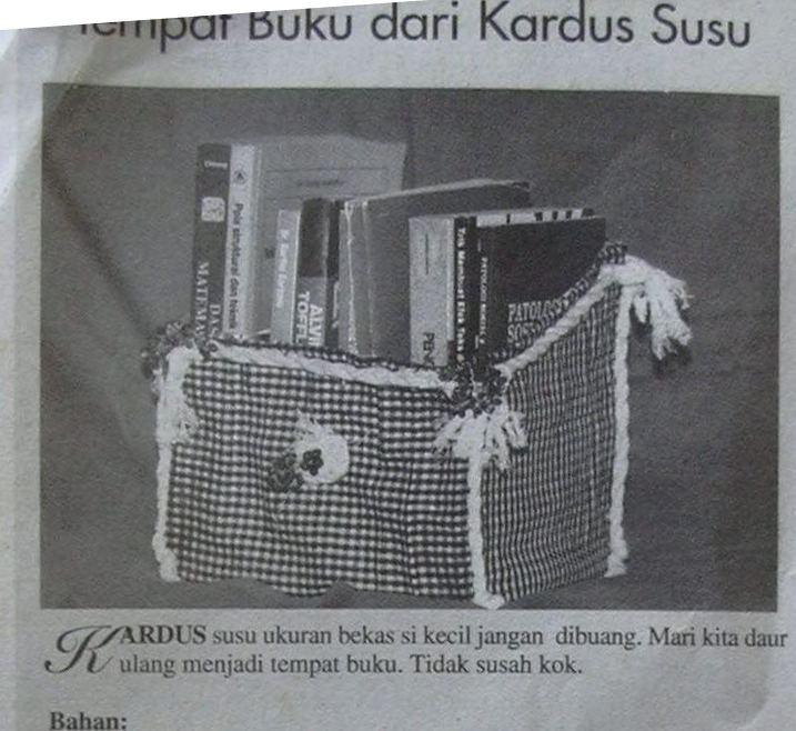 berbagi gagasan: recycle handicraft, kerajinan daur ulang ...