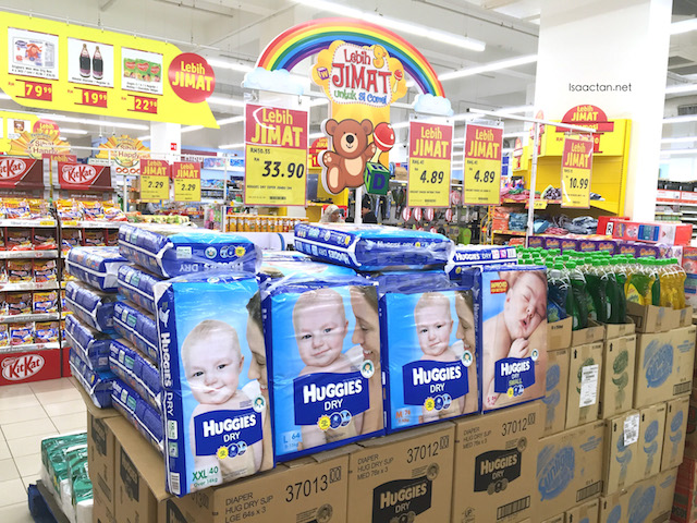 Promotions on diapers, and baby products