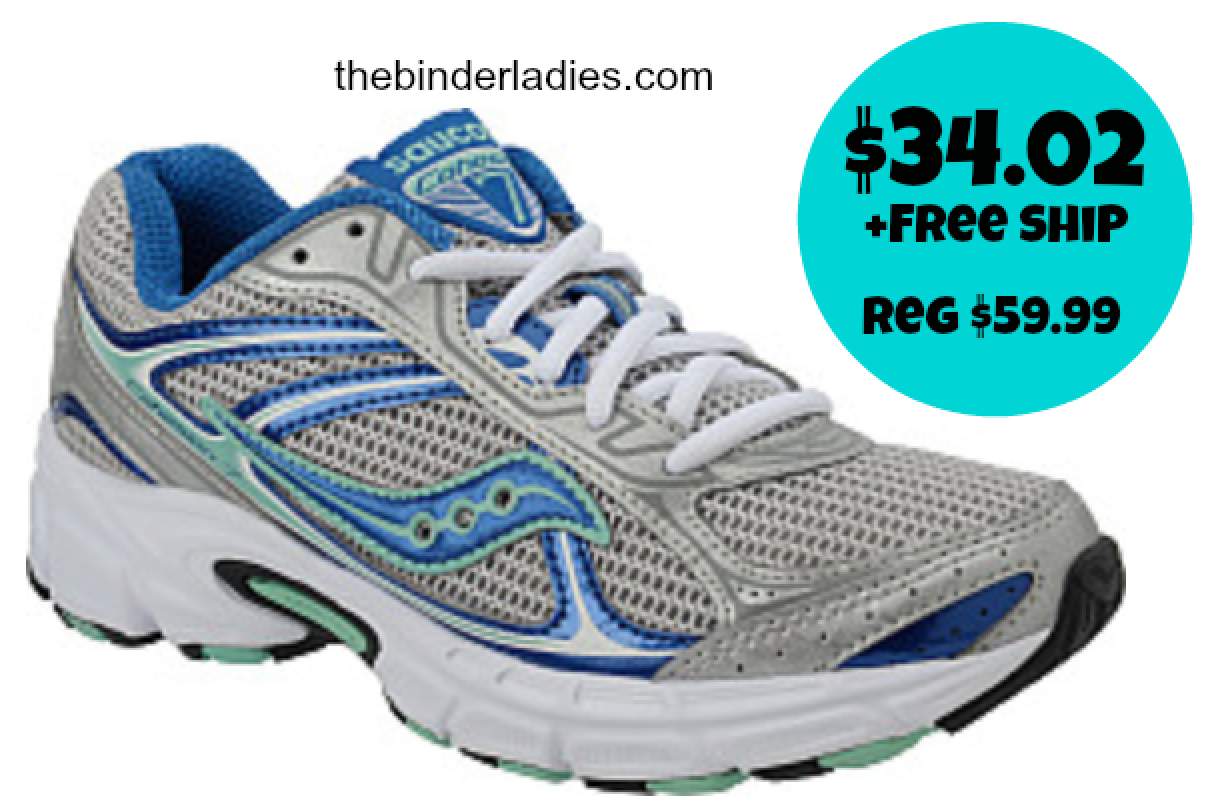 http://www.thebinderladies.com/2014/10/sports-authority-womens-saucony-grid.html#.VDgEPkvdtbw