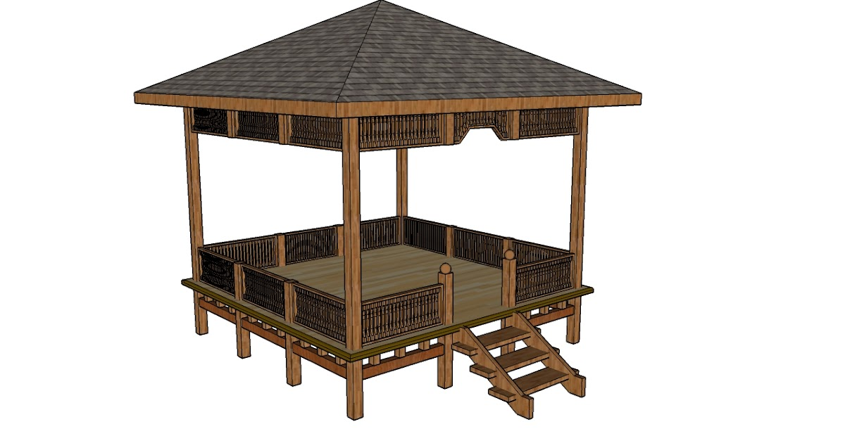 how to make sure a pergola is square