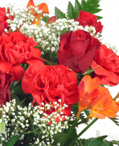 Special love flowers by post