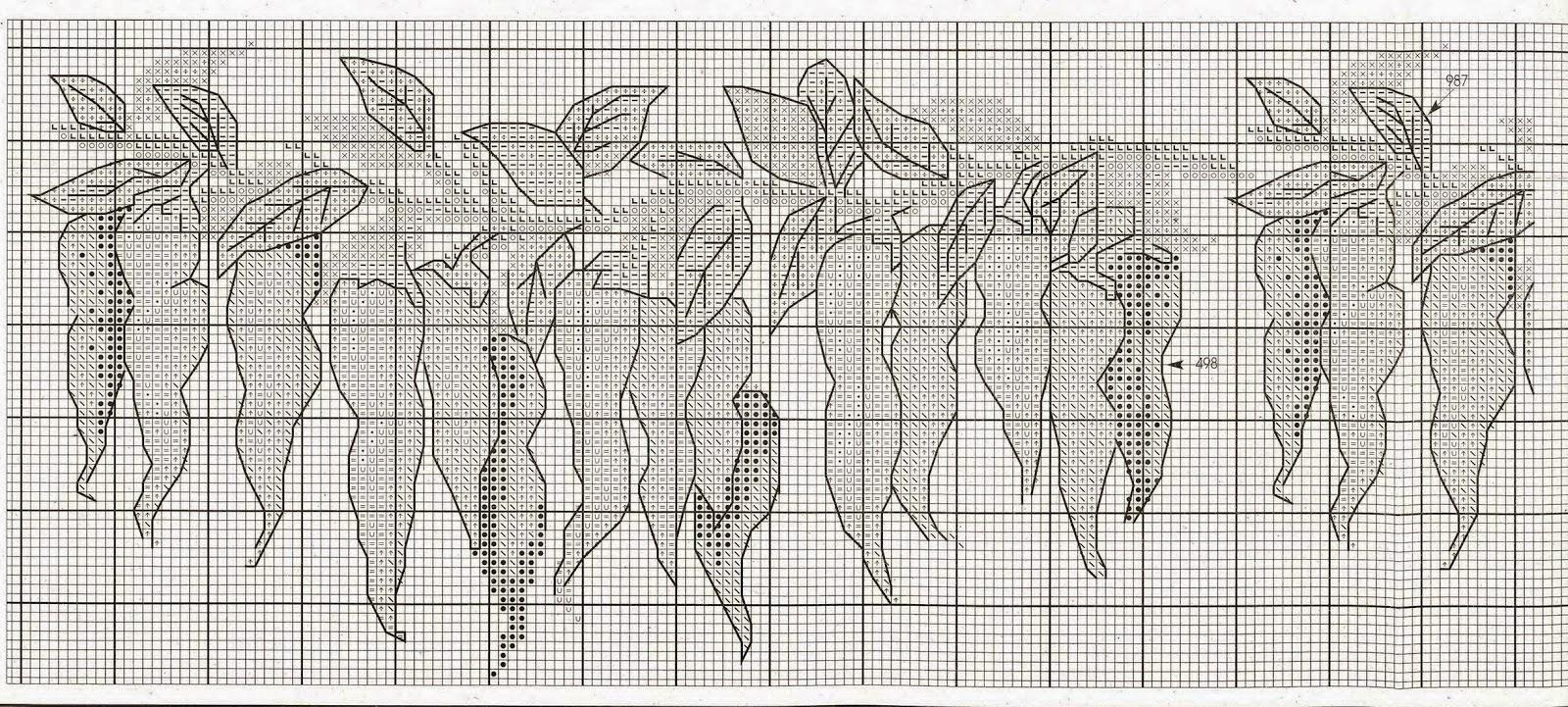 схемы для вышивания numie