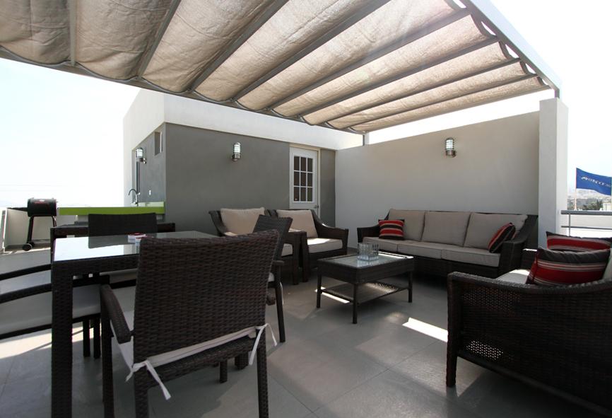 Casas en venta y departamentos casa muestra modelo 211scl for La azotea de la casa de granada