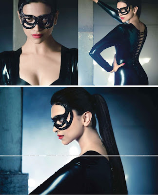 Deepika Padukone Hot Catwoman Avatar Photoshoot Pics